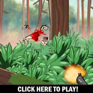 Kamikaze Frogs -  Стрелялки Игра